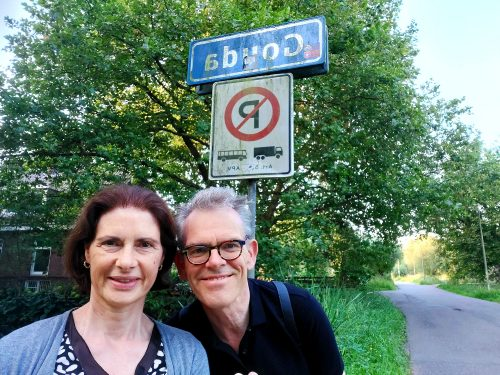 Foto Michaël Nieuwesteeg en Jeanine van de Wiel