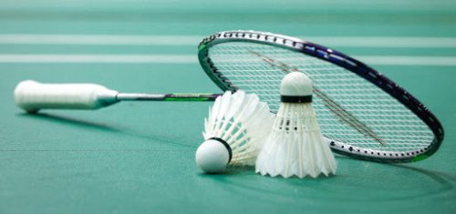 Foto badmintonshuttles