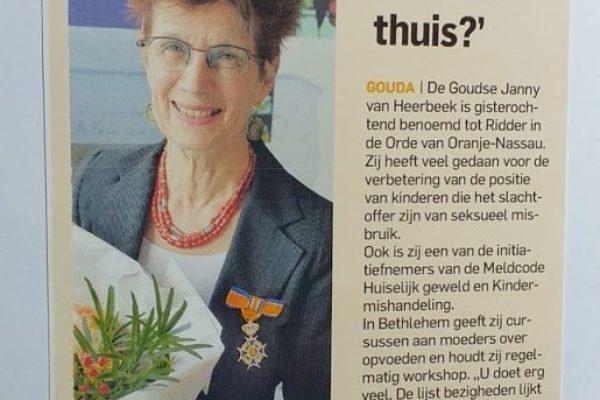 Foto Janny van Heerbeek