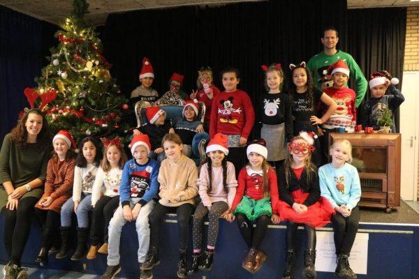 Foto Schateiland groep 5 kerst