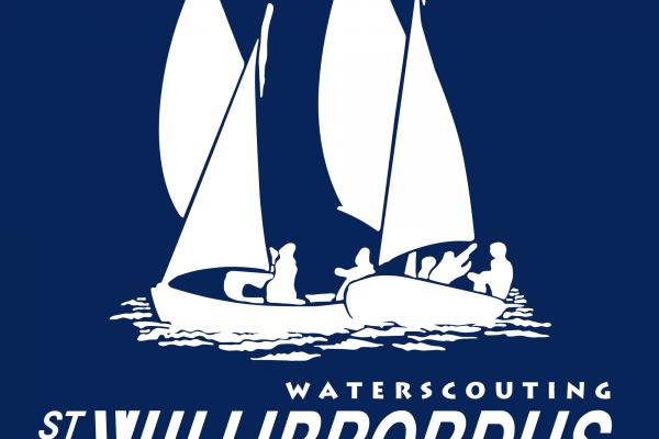 Logo Compleet Wit op donkerblauw